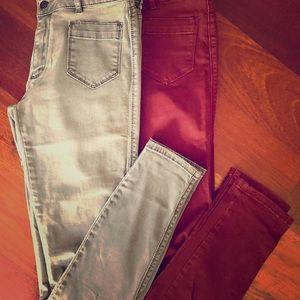 Club Monaco skinny jeans